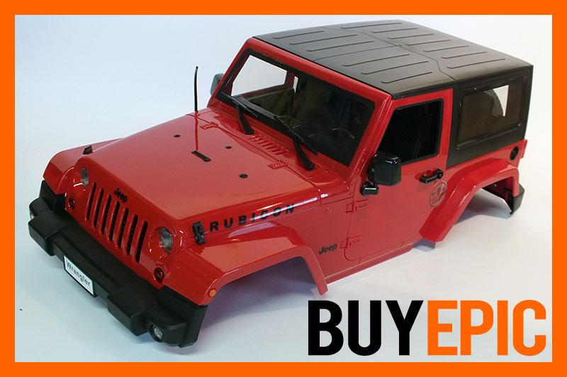 scale crawler 1 10 karosserie gel ndewagen 4x4 rot f r. Black Bedroom Furniture Sets. Home Design Ideas